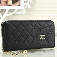 CHANEL 2018 new women's exquisite fashionable clutch F-OM-NBPF Black