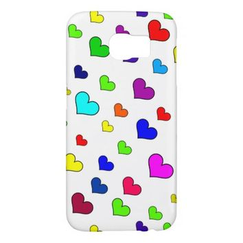 Hearts Samsung Galaxy S6 Case