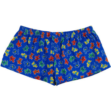 Grateful Dead Women's  Underwear Blue Rockabilia