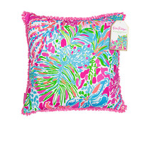 Large Indoor/Outdoor Pillow - Spot Ya - Lilly Pulitzer