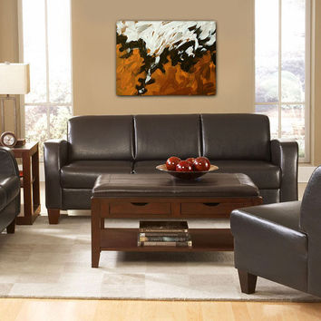 Large abstract art print on 30x40 gallery wrap by FinnellFineArt