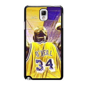 SHAQUILLE O'NEAL LA LAKERS Samsung Galaxy Note 3 Case Cover