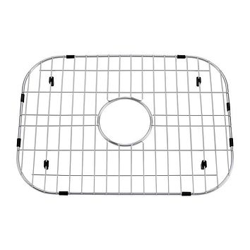 DAX-GRID-OM-2522 / DAX GRID FOR KITCHEN SINK, STAINLESS STEEL BODY, CHROME FINISH, COMPATIBLE WITH DAX-OM2522, 19-1/2 X 15-1/4 INCHES