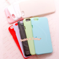 iPhone 6 Case Candy Pastel Clear Color Cover