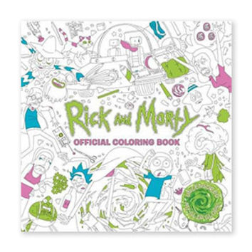 Rick and Morty: The Coloring Book