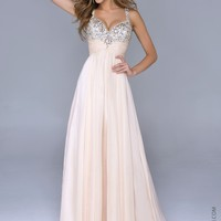 Nina Canacci 1040 Sweetheart Beaded Gown