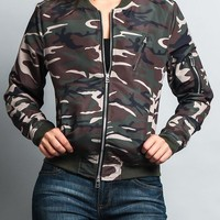 Women's Lightweight Bomber Jacket