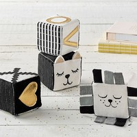 Emily & Meritt Kitty & Lion Blocks Set