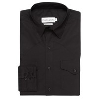 Clint Luxury Black Pinpoint Western - Ovadia & Sons