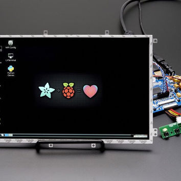 "10.1"" Display & Audio 1280x800 IPS - HDMI/VGA/NTSC/PAL"
