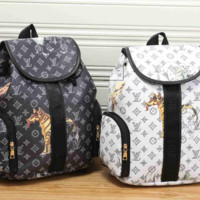 LV fashion letters backpack[380498280484]