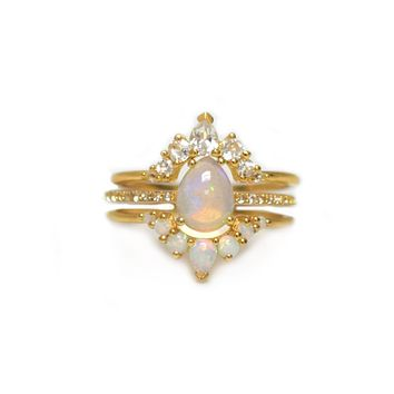 Opal & Diamond Dreamers Stack