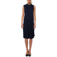 Eileen Fisher Womens Silk Shift Casual Dress