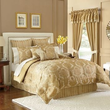 Bond Street Essex 4-pc. Comforter Set (Yellow)