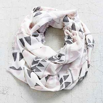 Clipped Geo Eternity Scarf - Urban Outfitters
