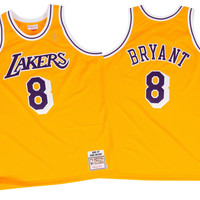 Mitchell & Ness Kobe Bryant 1996-97 Authentic Jersey Los Angeles Lakers In Gold