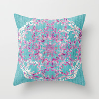 Reinventing A Taste of Lilac Wine Throw Pillow by Octavia Soldani | Society6