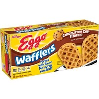 Kellogg's Eggo Wafflers Chocolatey Chip Muffin Waffle Bars, 8 count, 10.7 oz - Walmart.com