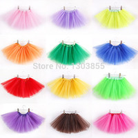 Tutu Ballet Up Princess Tutus Dance Costume Party Girls Toddler Kids Skirt