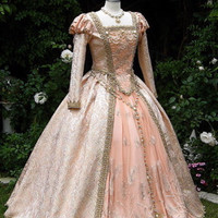 Shakespeare in Love Elizabethan Princess Cinderella Deluxe Fantasy Gown Custom