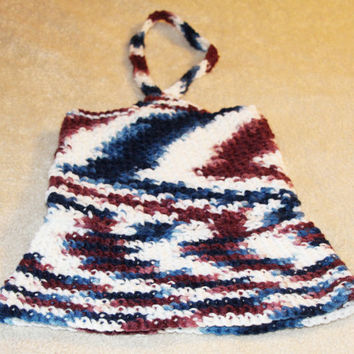 Newborn Dress - Red, White, and Blue Infant Dress - 0-3 months