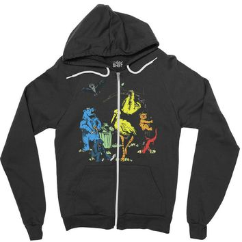 friendly beasts Zipper Hoodie