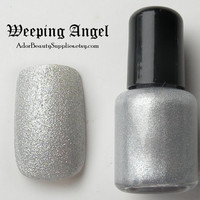Weeping Angel Nail Polish 8 ml Vegan by AdorBeautySupplies on Etsy