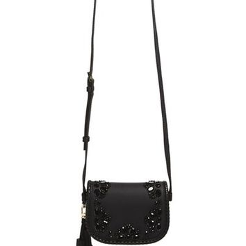 kate spade new york 'anderson way - small lietta' beaded leather crossbody bag | Nordstrom