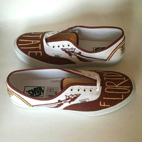 FSU Florida State Painted Shoes - Mens