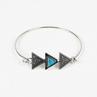 Aztec Triple Triangle Bracelet