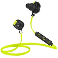Morul U5 Bluetooth Sports Headphones - Support Noise Reduction, NFC, Music Control, Pedometer, Free App For Android, Sweat-Proof