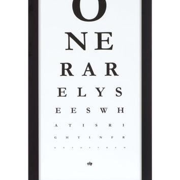 Eye Chart | Framed Art | Art by Type | Art | Z Gallerie
