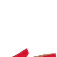 Flat-Out Adorable Red Espadrille Flats
