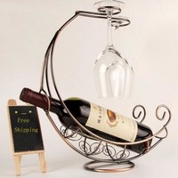 Wine For Two Wine Holder
