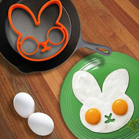 Cooking Egg Rabbit Silicon Mold Ring