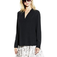 Vince Camuto Shirttail Long Sleeve
