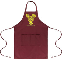 Disney Parks Epcot Italy Mickey Icon Pasta Apron One Size New with Tags