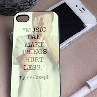 Twenty One Pilots Tyler Joseph | Musical Duo | iPhone 4 4S 5 5S 5C 6 6+ Case | Samsung Galaxy S3 S4 S5 Cover | HTC Cases