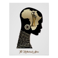 The Motherland Africa Poster