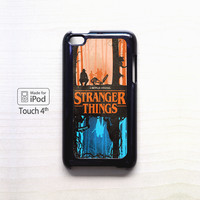 Stranger Things Image poster for iPod 4/ iPod 5 cases