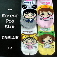 KPOP Korean super star character socks 4 pairs / CNBlue / free shipping + gift