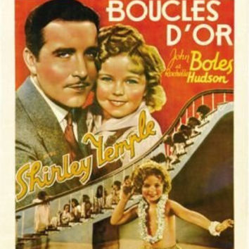 Curly TOP Movie Poster Shirley Temple Rare HOT Vintage
