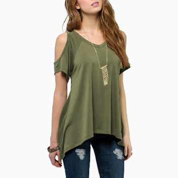 loose fit Fashion Blusas