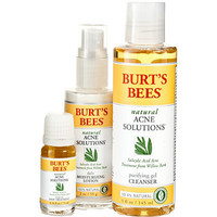 Burt's Bees Natural Acne Solutions Regimen Kit Ulta.com - Cosmetics, Fragrance, Salon and Beauty Gifts