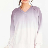 Out From Under Oversized V-Neck Pullover Sweatshirt - Urban Outfitters