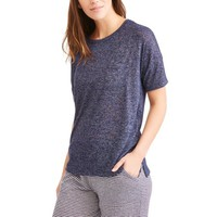 Secret Treasures Women's Hacci Sleep Top - Walmart.com