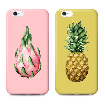 Pitaya Pineapple Cute Case for iPhone