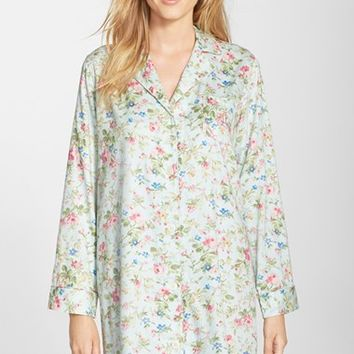 Women's Lauren Ralph Lauren Sateen Nightshirt,