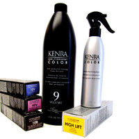 Hair Color - Kenra Permanent Line of hair color