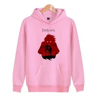 Death Note L is watching 2018 new hiphop MENS Sweat Hoodie Sweatshirt  Sweatshirt fashion hoody clothes Fit clothes casual X4134